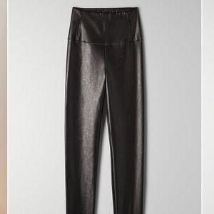 Daria Cropped Ankle Vegan Leather Leggings Wilfred